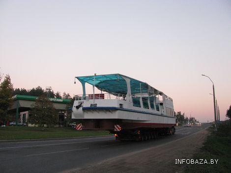 В Витебске судно будет курсировать по ...